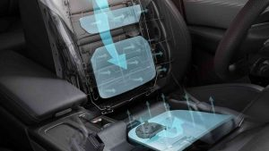 car seat air conditioning system